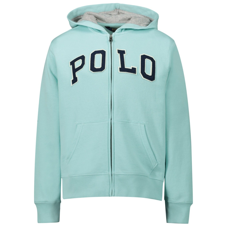 Picture of Ralph Lauren 770679 kids sweater turquoise