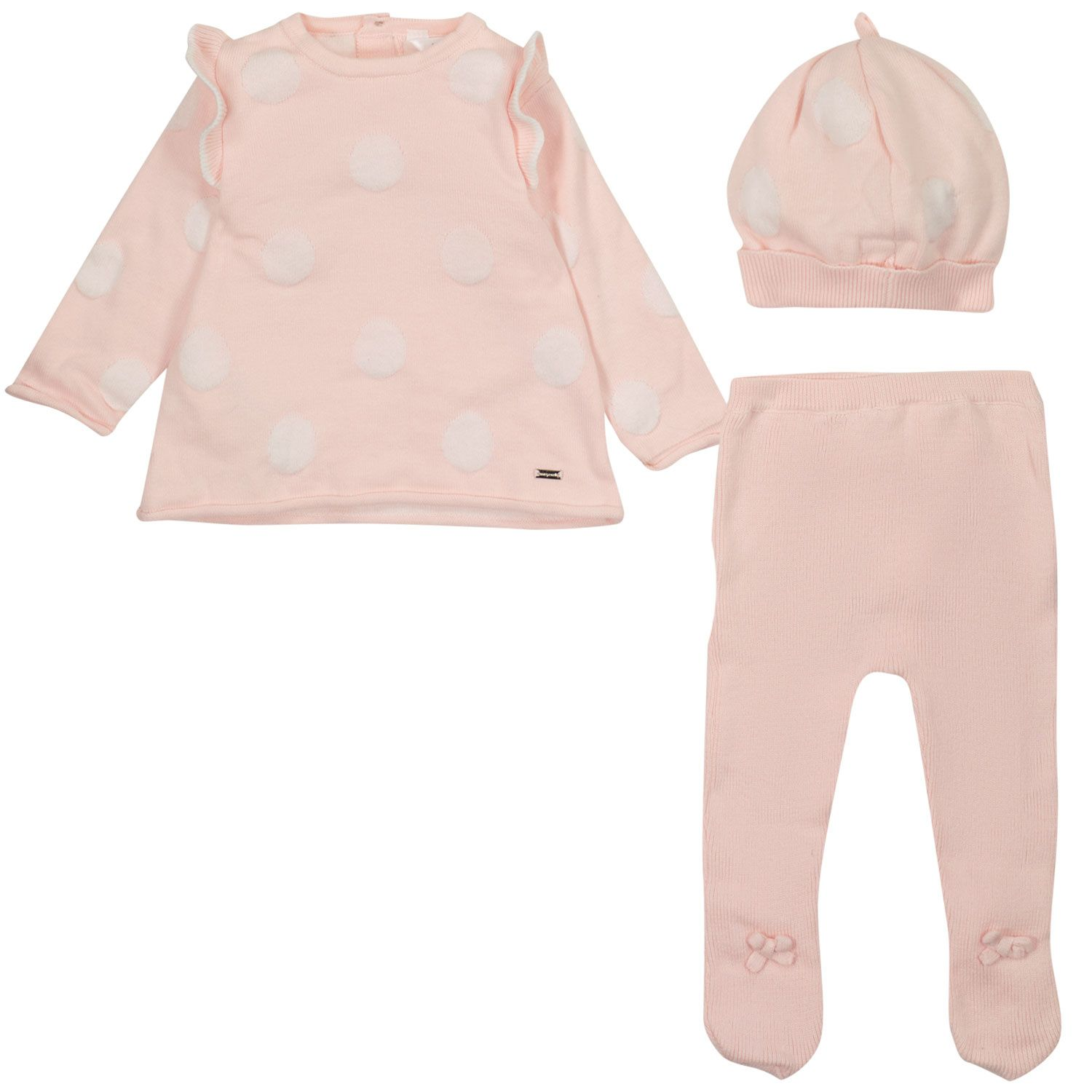 Picture of Mayoral 2503 baby playsuit light pink