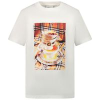 Picture of Burberry 8037614 kids t-shirt white