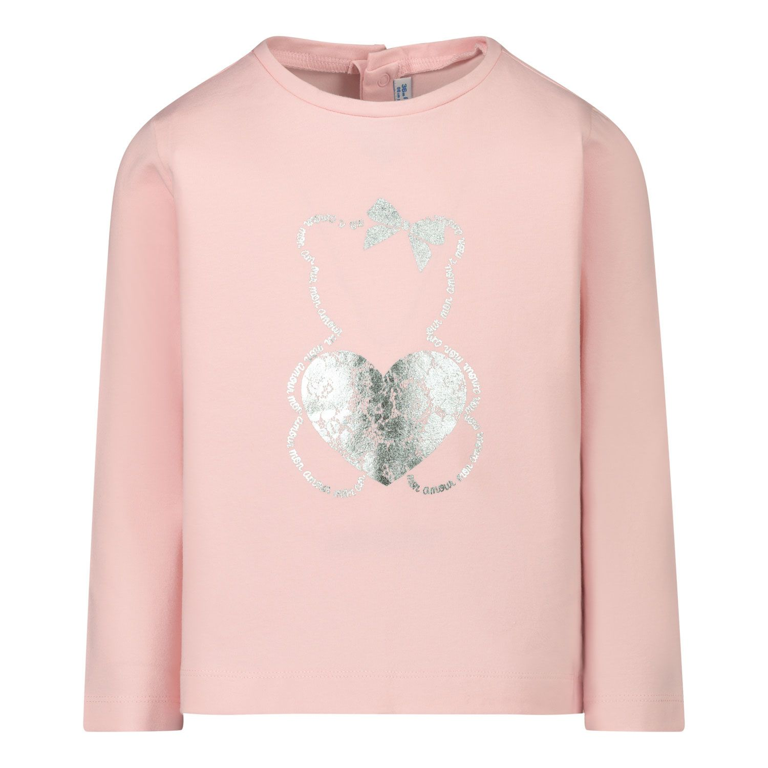 Picture of Mayoral 116 baby shirt light pink