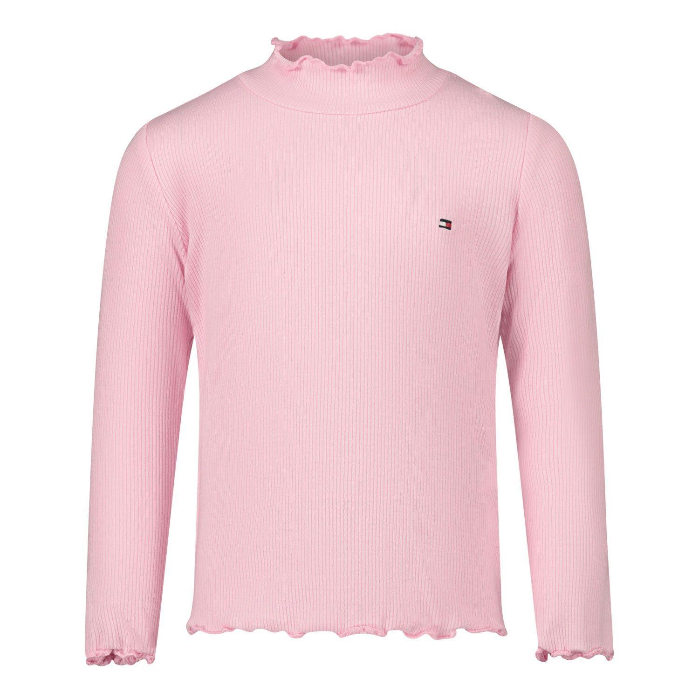 Afbeelding van Tommy Hilfiger KG0KG05515B baby t-shirt licht roze