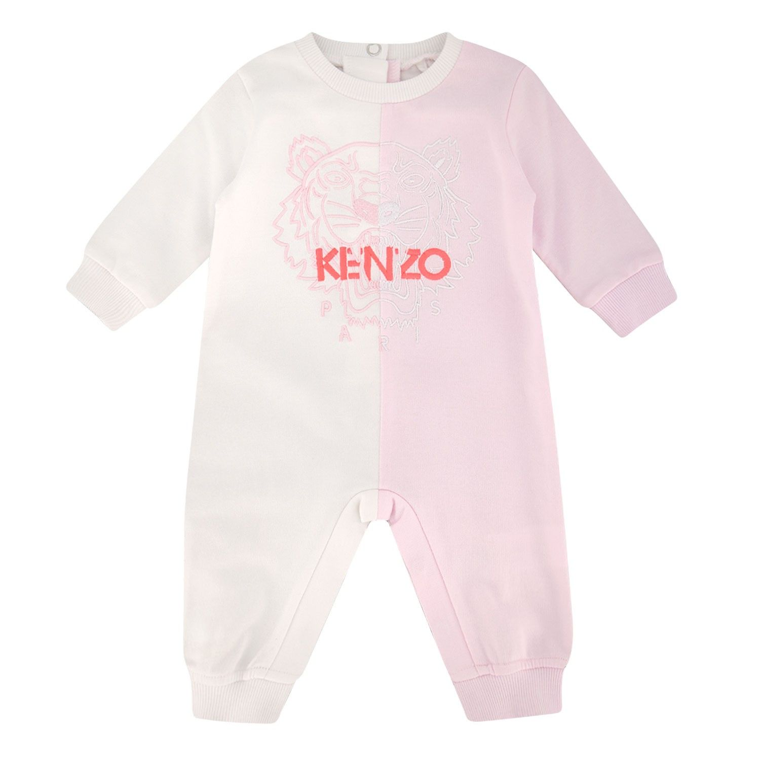 Picture of Kenzo 32013 baby playsuit light pink
