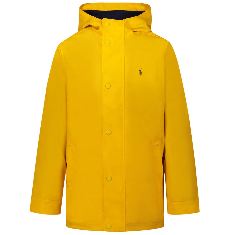 Picture of Ralph Lauren 785752 kids jacket yellow