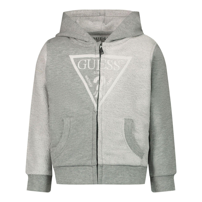 Afbeelding van Guess N1RQ07 baby vest licht grijs