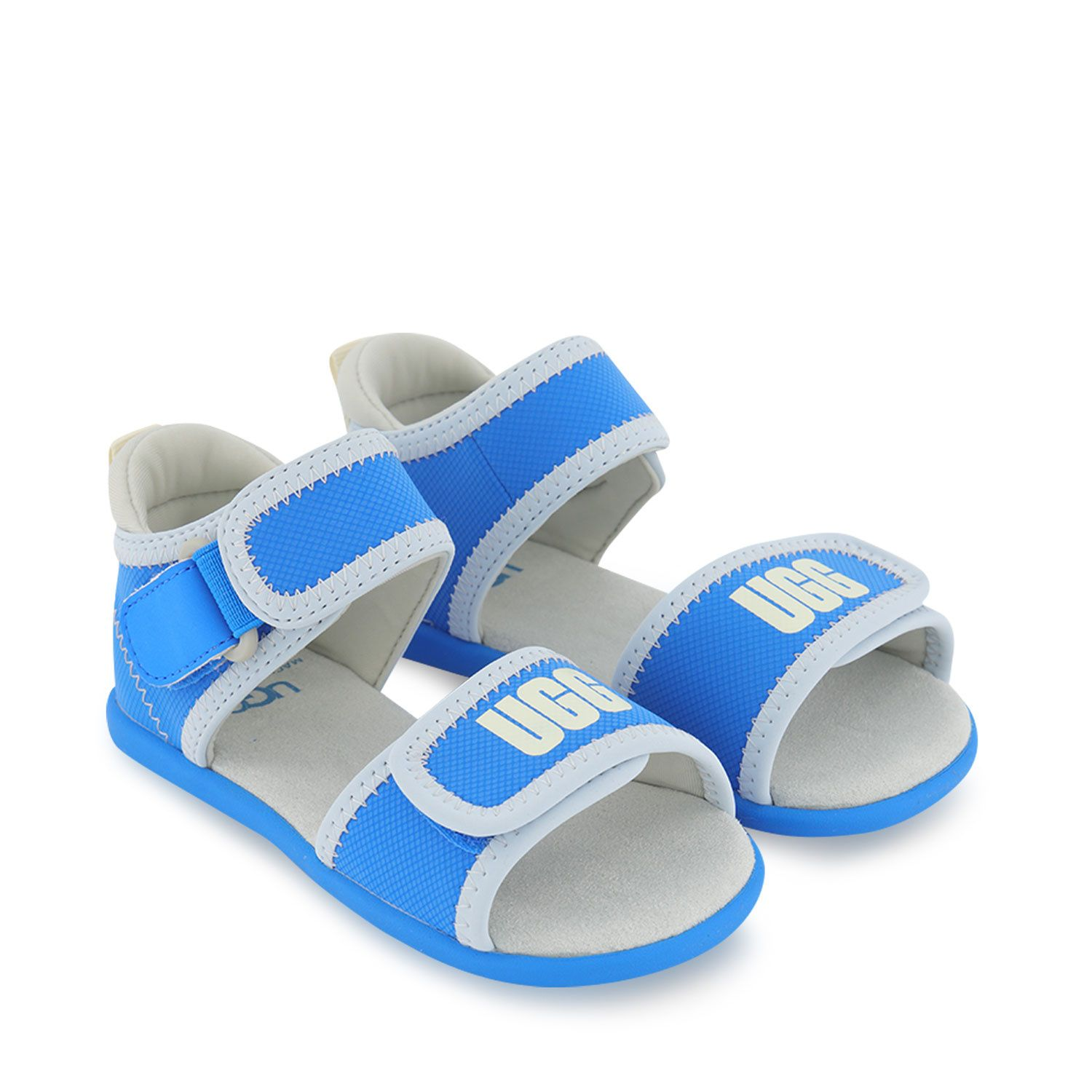 Picture of Ugg 1107984 kids sandals blue