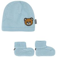 Picture of Moschino MUX03R baby hat light blue