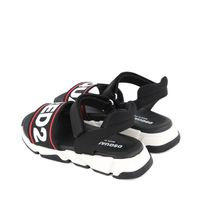 Picture of Dsquared2 63499 kids sandals black
