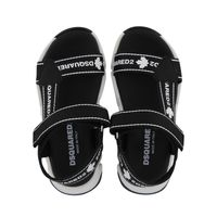 Picture of Dsquared2 67028 kids sandals black