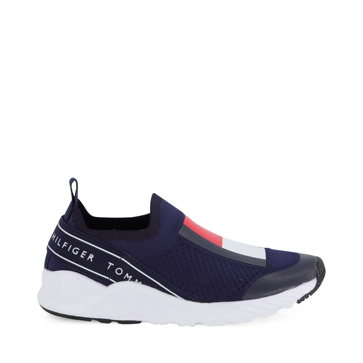 Picture of Tommy Hilfiger 30629 kids sneakers navy