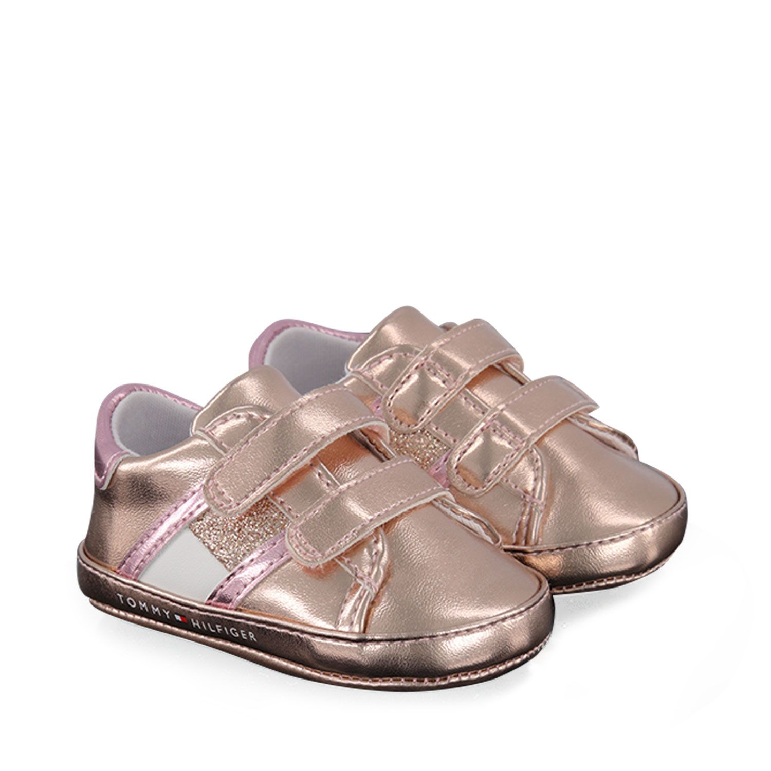 Picture of Tommy Hilfiger 30770 baby sneakers rose
