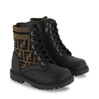 Picture of Fendi JMR383 kids boots brown