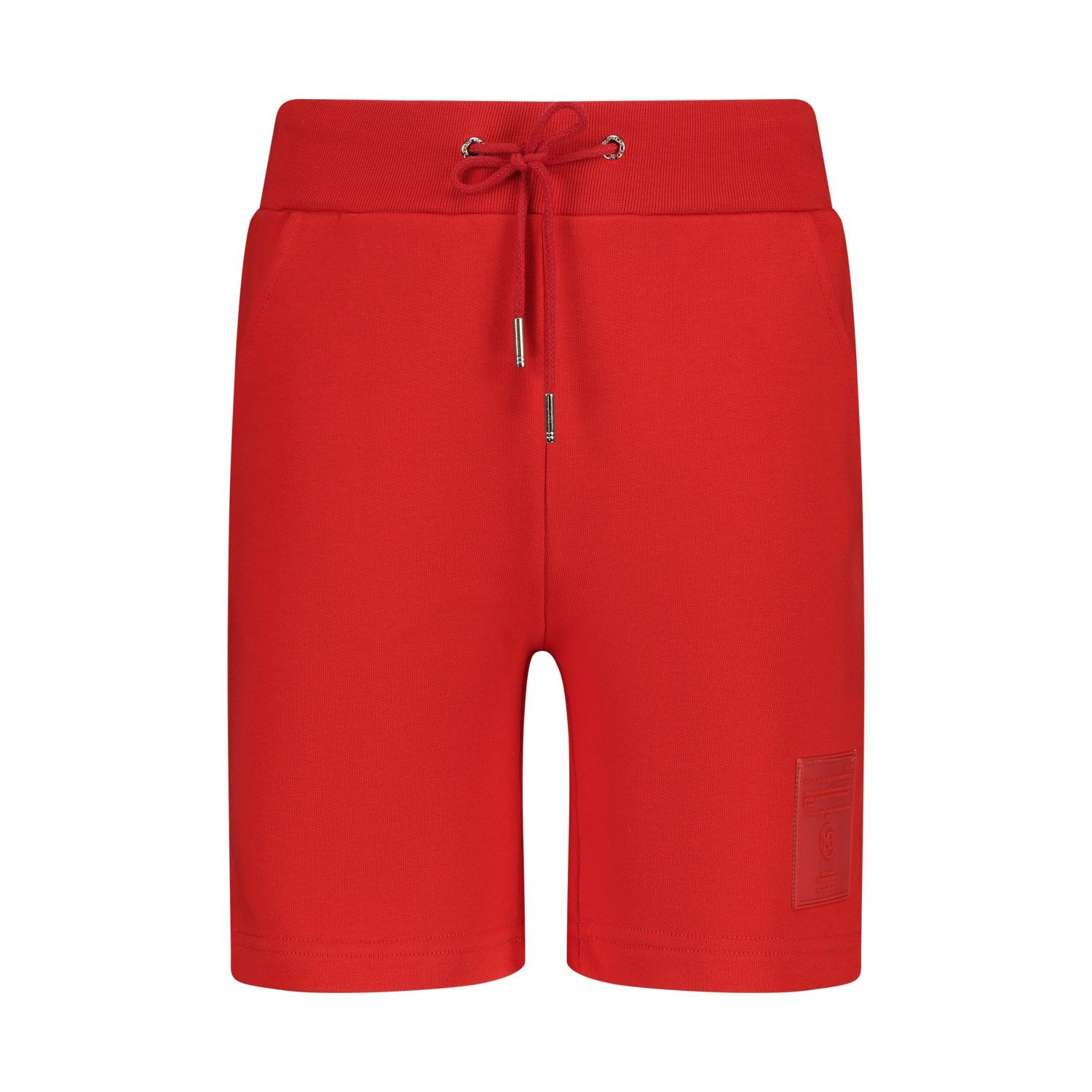 Afbeelding van My Brand 007A0006 kinder shorts rood