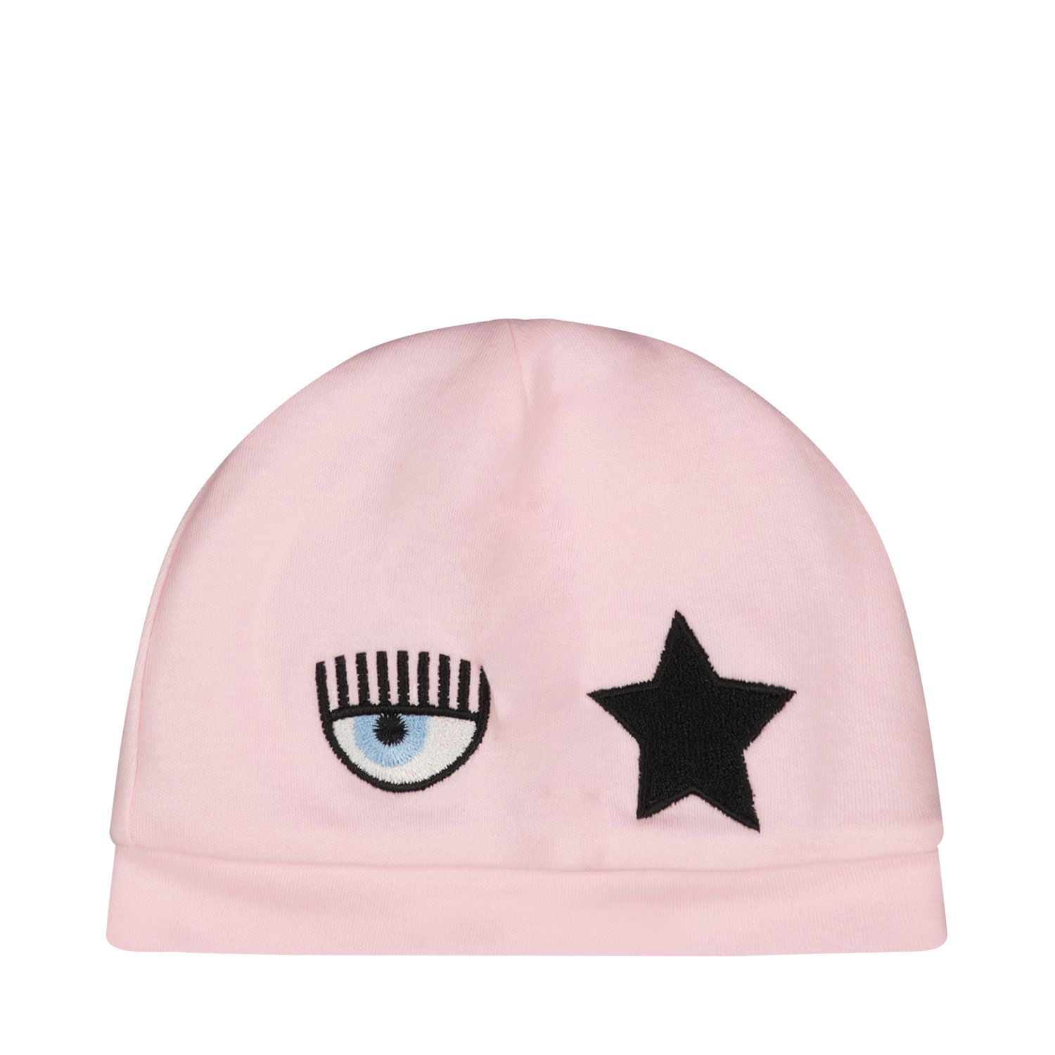 Picture of Chiara Ferragni 558010 baby hat pink