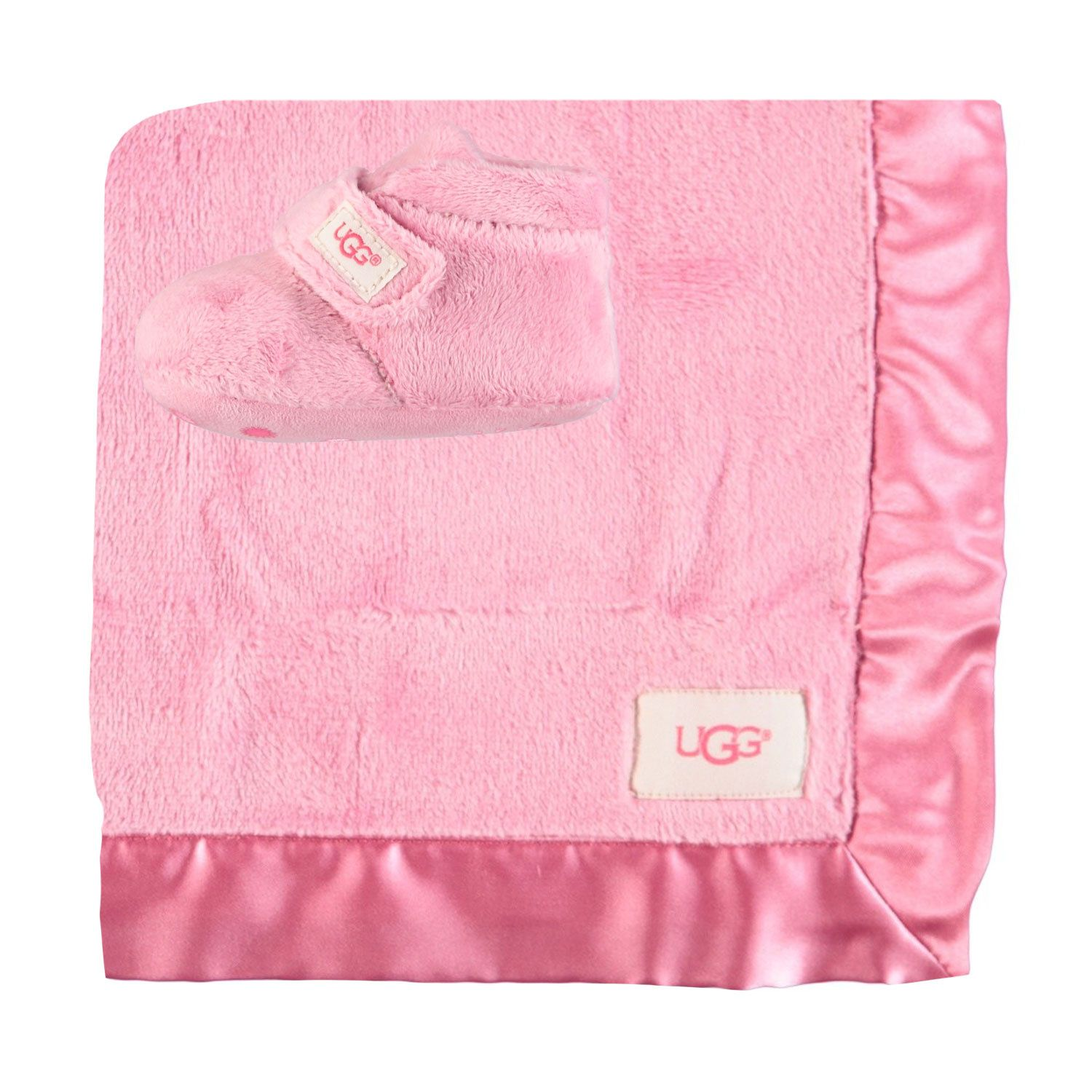 Picture of Ugg 1094823I baby slippers pink