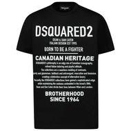 Afbeelding van Dsquared2 DQ046W kinder t-shirt zwart