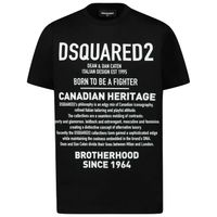 Picture of Dsquared2 DQ046W kids t-shirt black