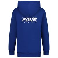Picture of Four HOODIE CIRCLES kids sweater cobalt blue