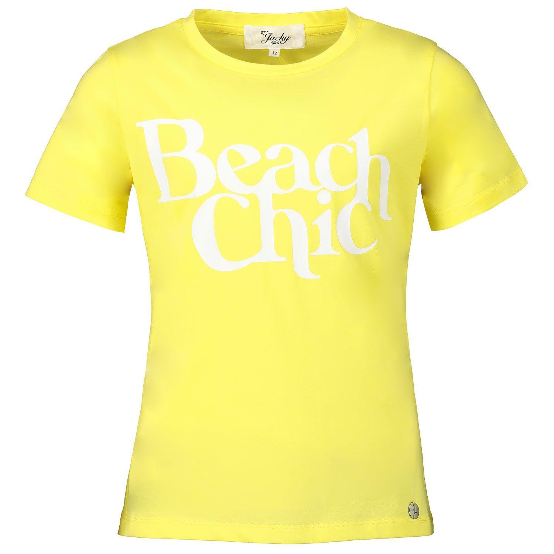 Afbeelding van Jacky Girls JGSS20103 kinder t-shirt geel