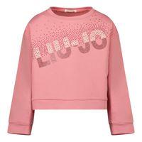 Picture of Liu Jo KF1055 kids sweater pink