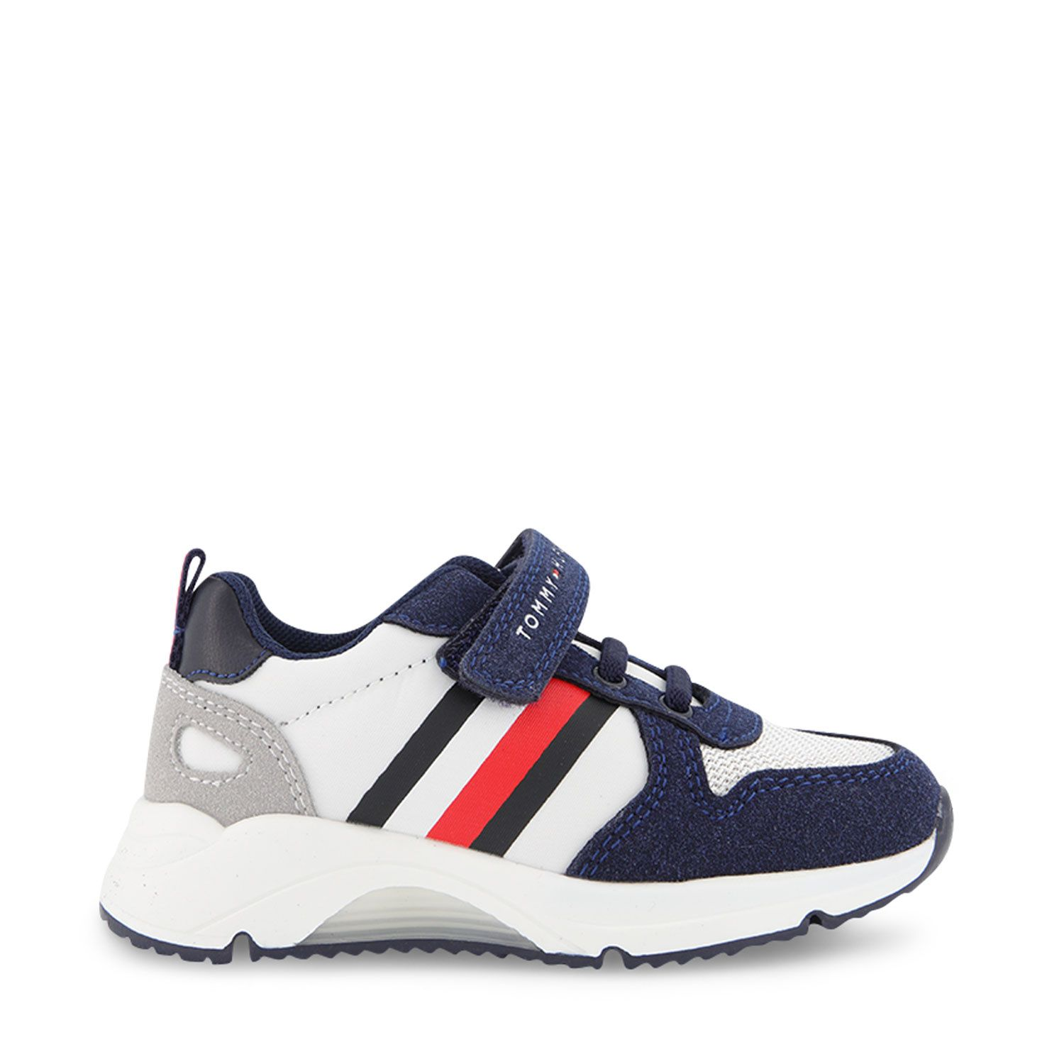 Picture of Tommy Hilfiger 31090 kids sneakers white