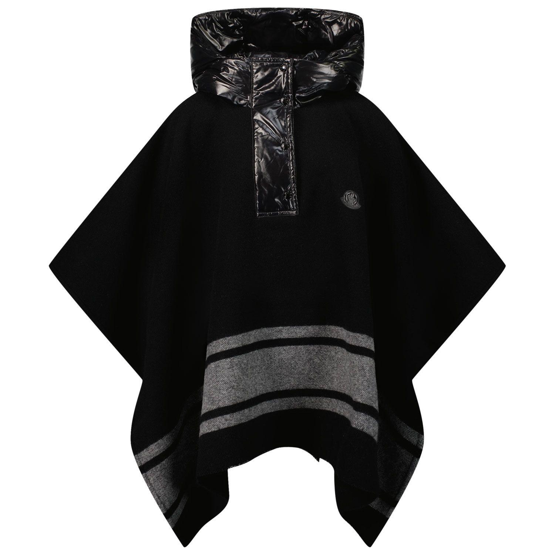 Afbeelding van Moncler 3G50010 kinderjas zwart