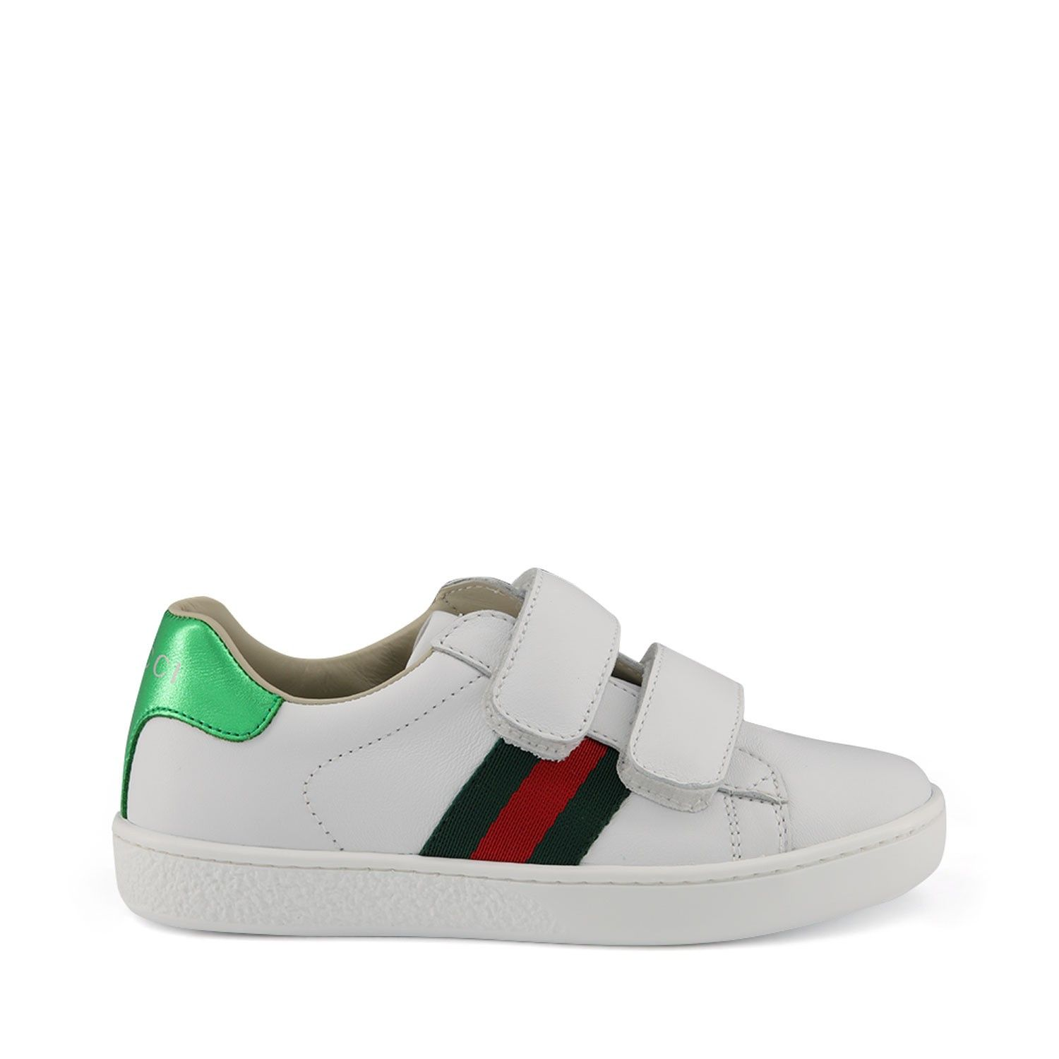 Picture of Gucci 455448 kids sneakers white