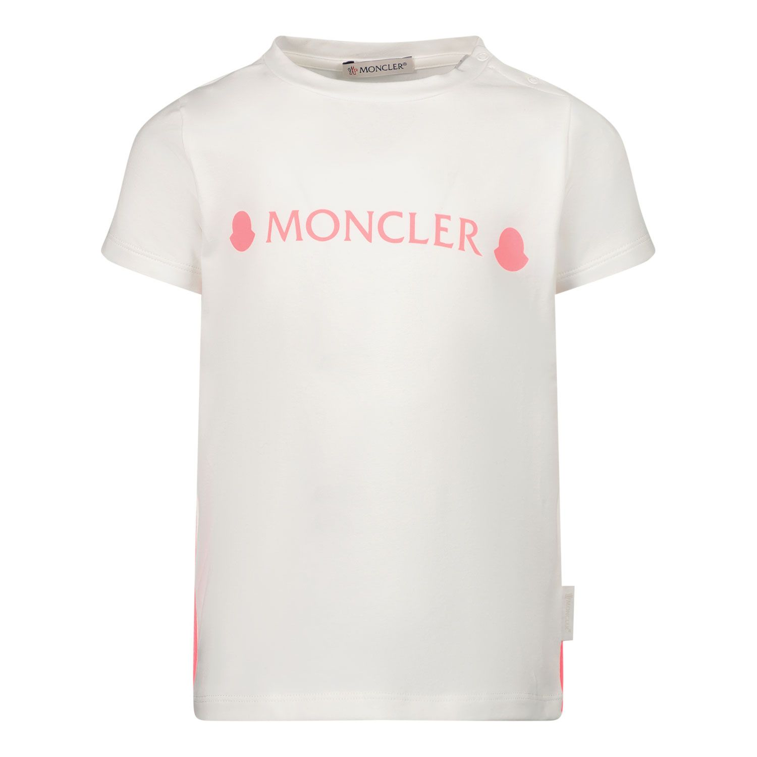 Picture of Moncler 8C73610 baby shirt white