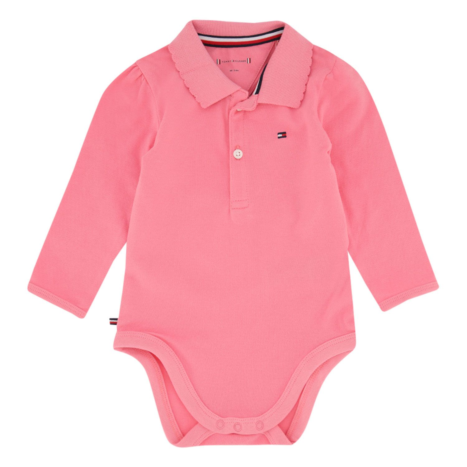 Picture of Tommy Hilfiger KN0KN01176 rompersuit pink
