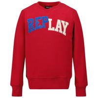 Picture of Replay SB2052 20372C kids sweater red