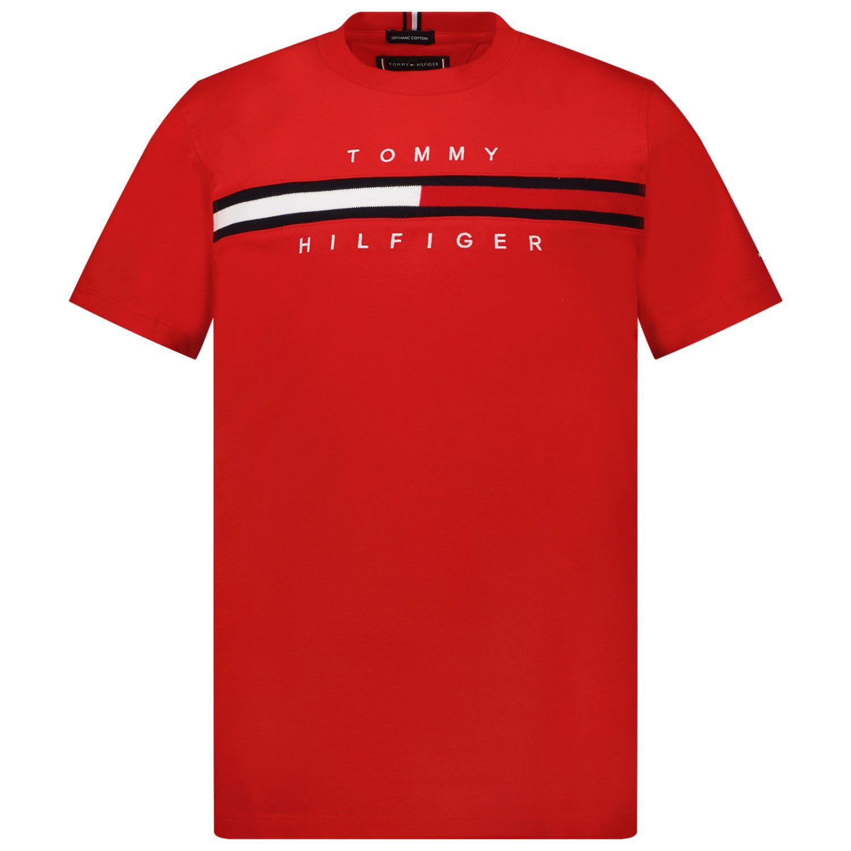 Picture of Tommy Hilfiger KB0KB06532 kids t-shirt red