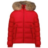 Picture of Moncler 1A58622 kids jacket red