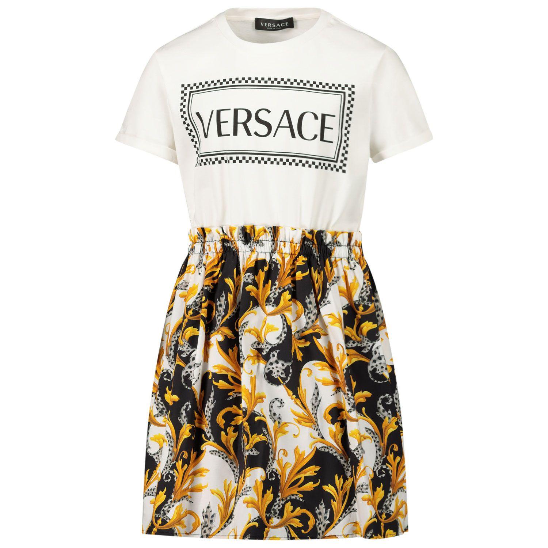 Bild von Versace YC000413 Babykleid Weiß