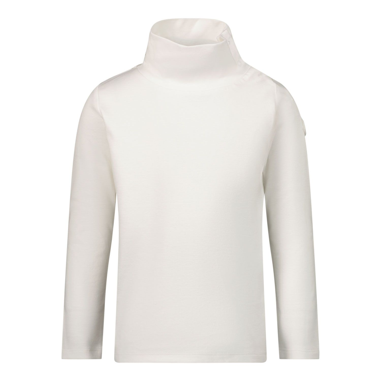 Afbeelding van Moncler 8D72510 baby t-shirt off white