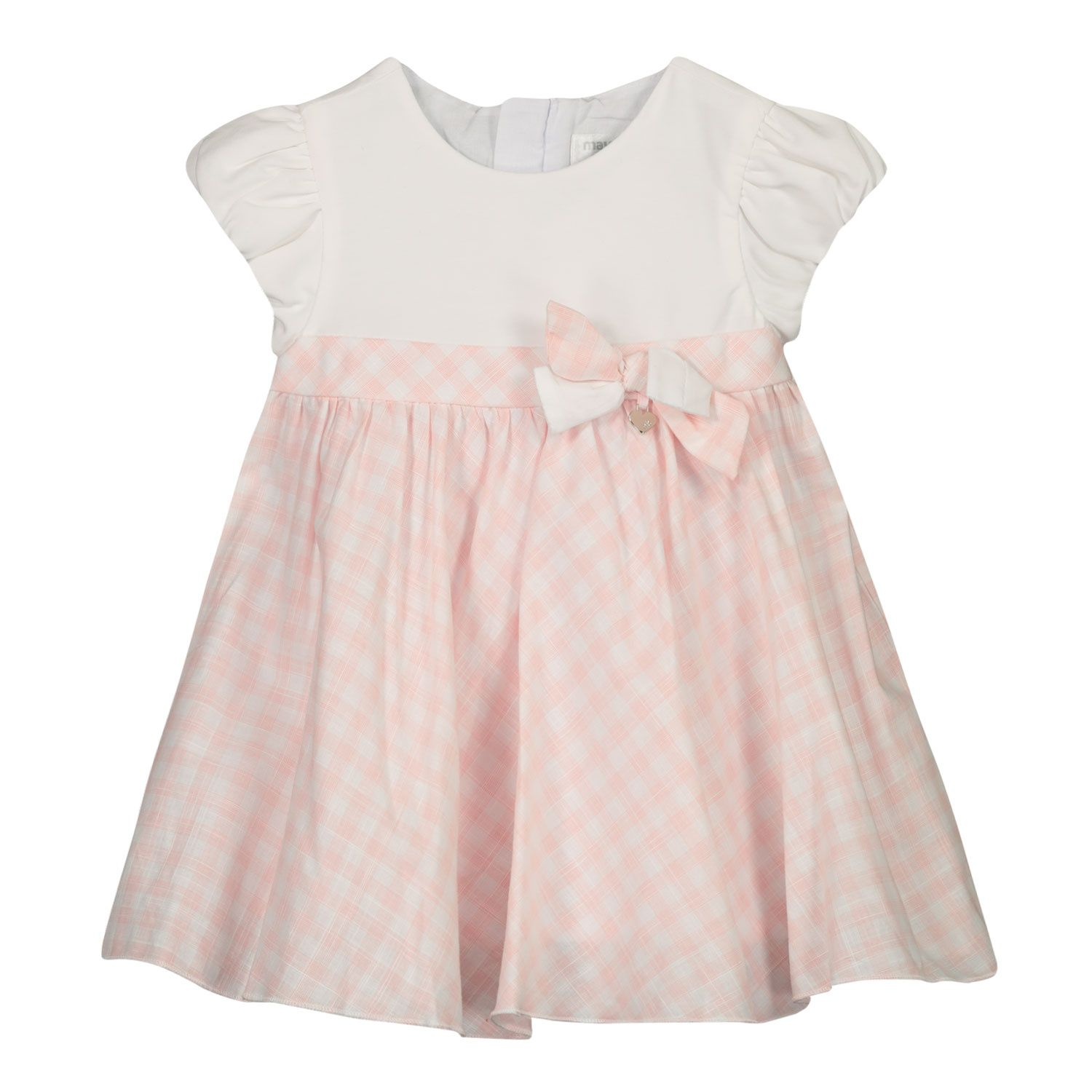Picture of Mayoral 1803 baby dress light pink