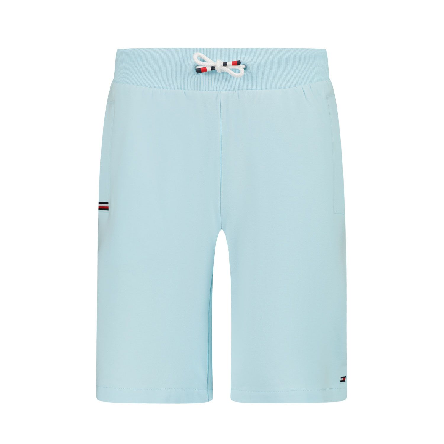 Picture of Tommy Hilfiger KB0KB06597 kids shorts turquoise