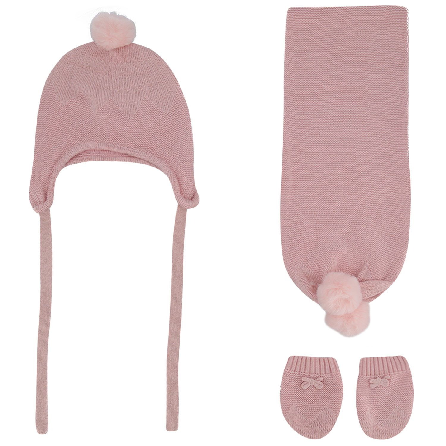Picture of Mayoral 9312 baby hat light pink