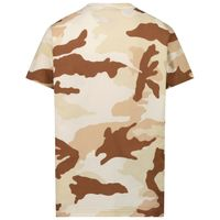 Picture of Dsquared2 DQ0253 kids t-shirt army