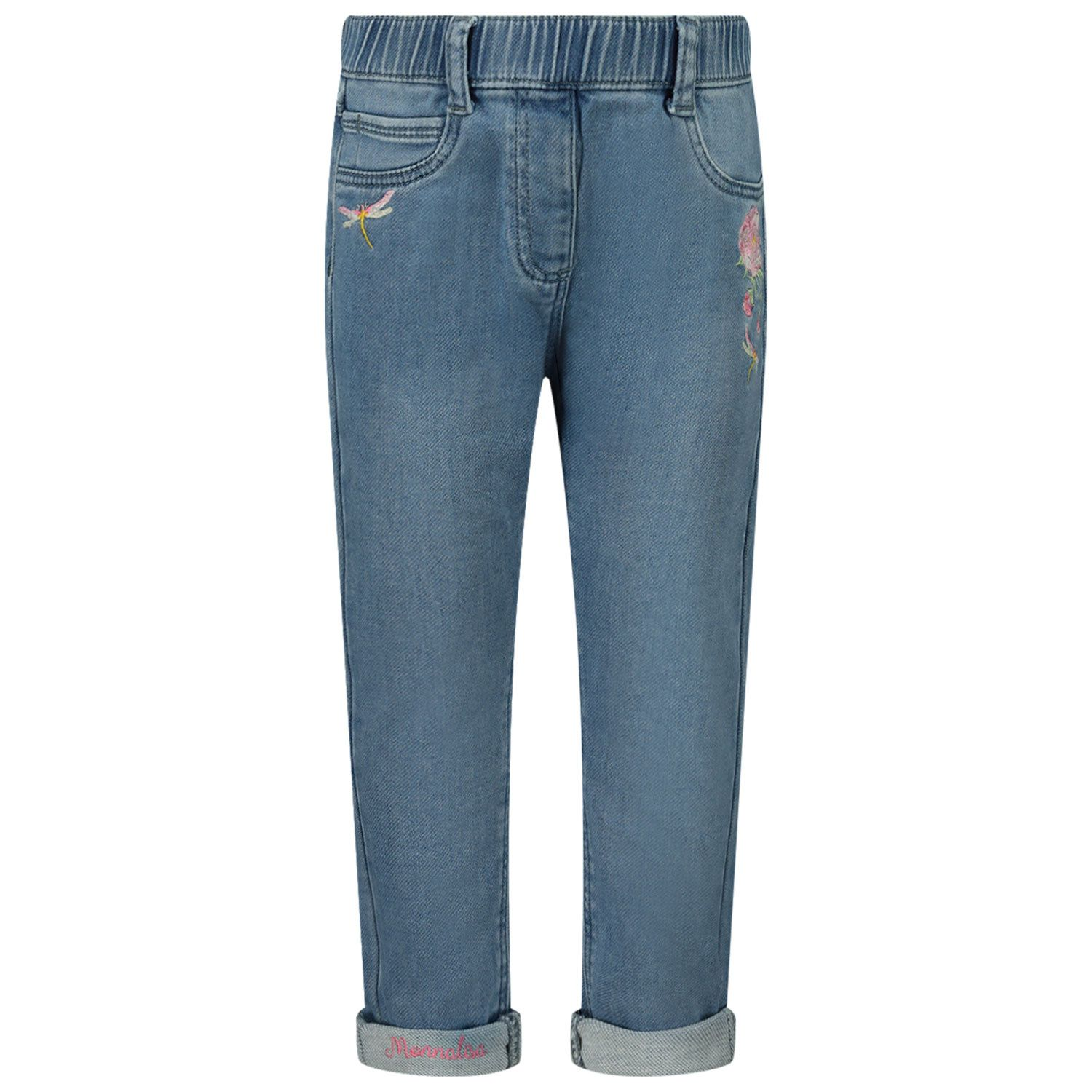 Picture of MonnaLisa 397403R5 baby pants jeans