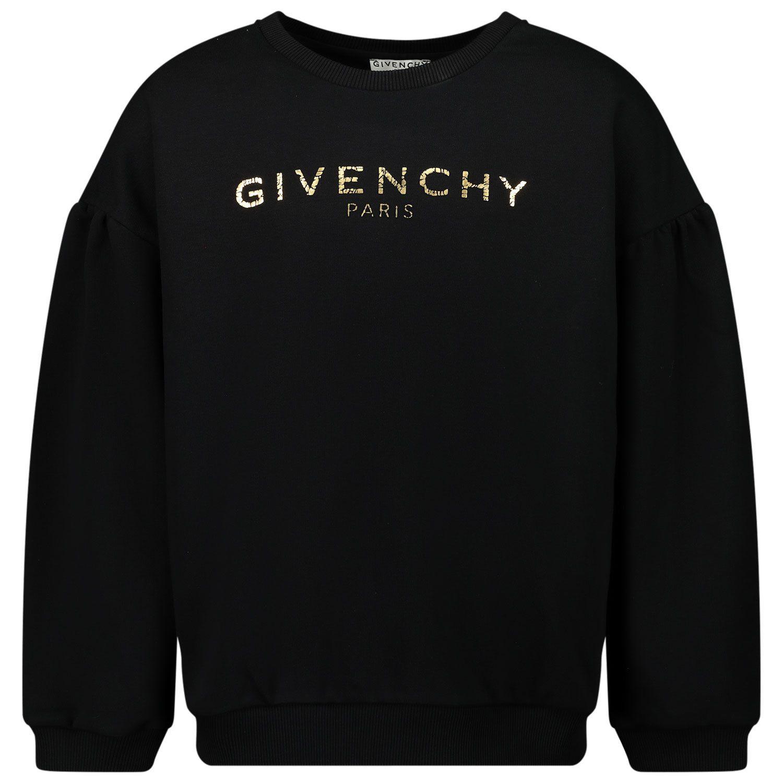 Bild von Givenchy H15175 Kinderpullover Schwarz