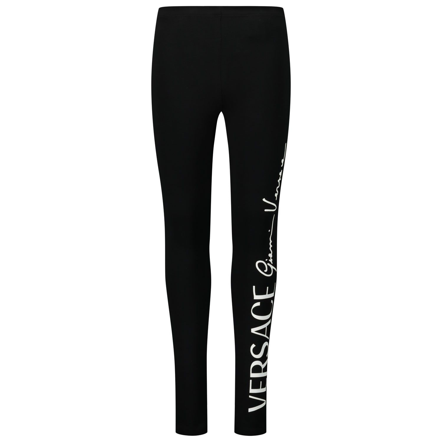 Picture of Versace YC000389 kids tights black