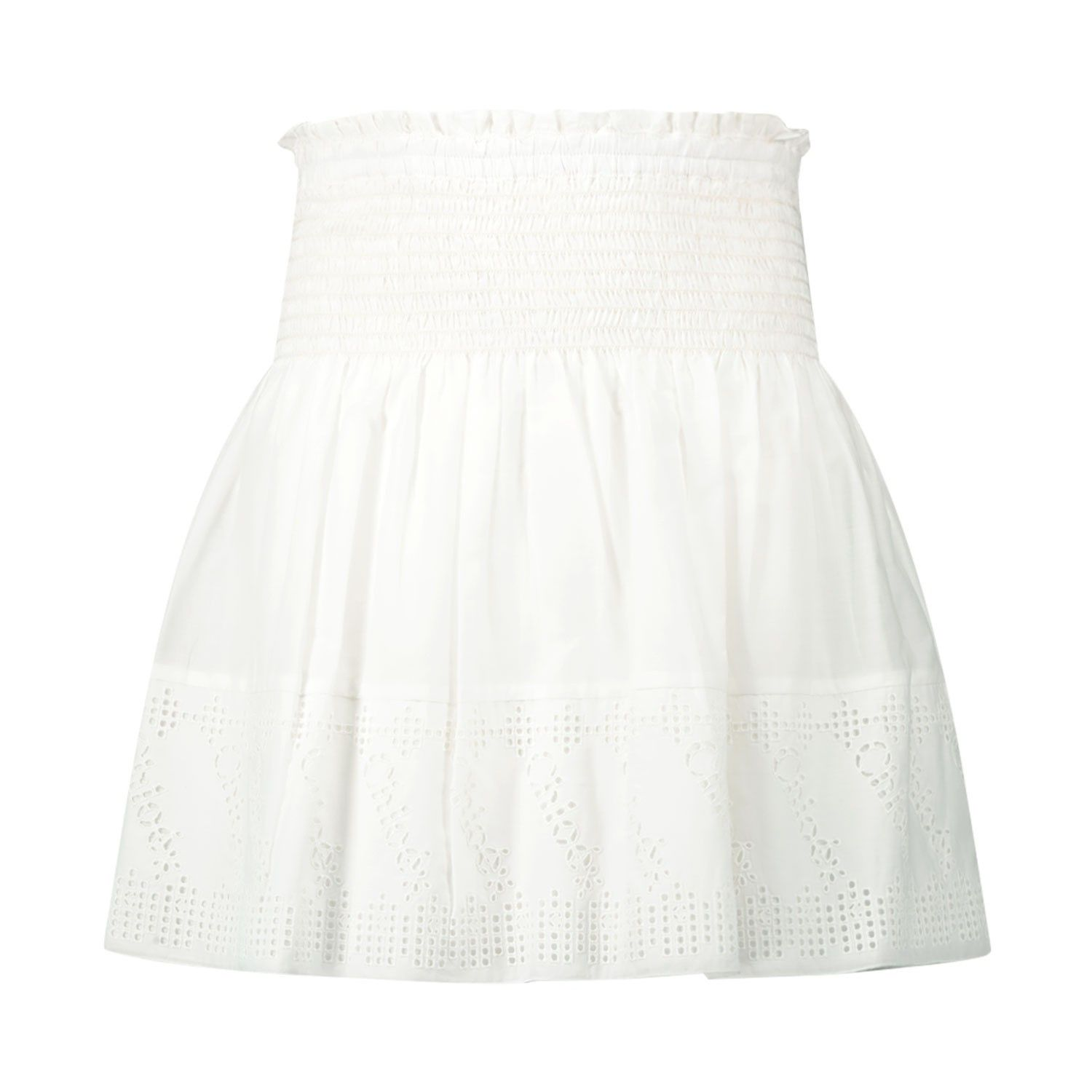 Picture of Chloé C13246 kids skirt off white