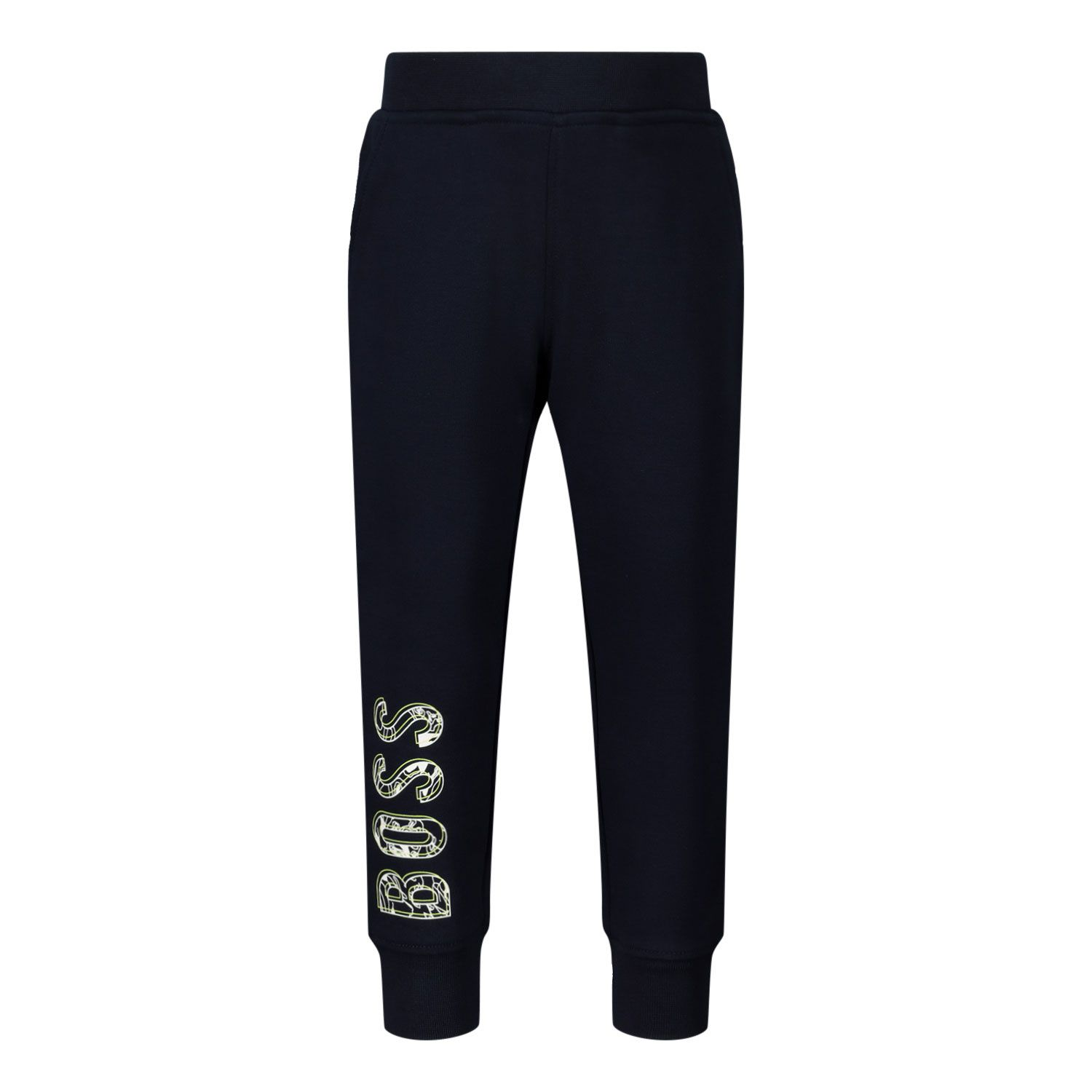 Picture of Boss J04380 baby pants navy