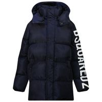 Picture of Dsquared2 DQ0388 kids jacket navy
