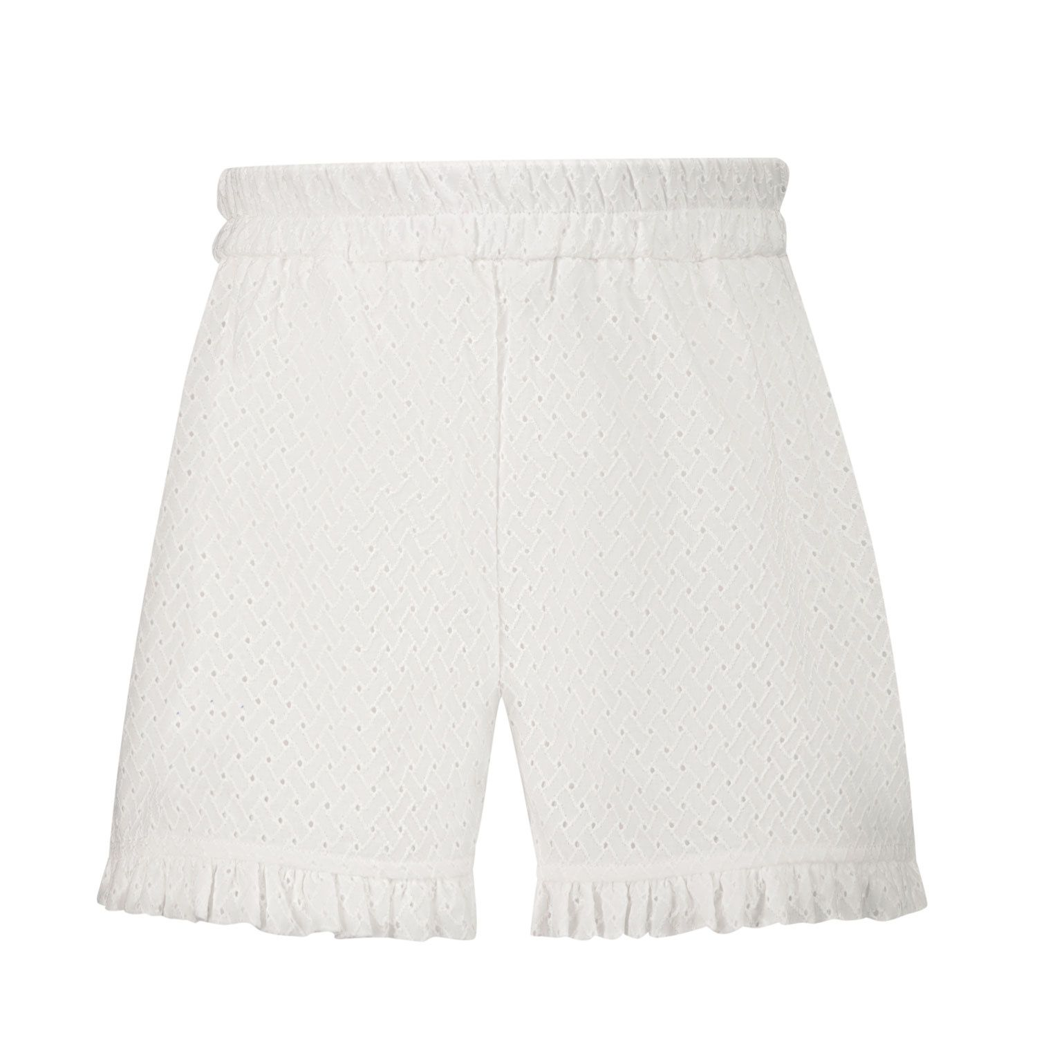 Picture of MonnaLisa 377409 baby shorts white
