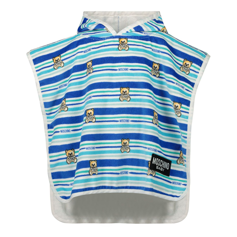 Picture of Moschino MUX03E baby swimwear blue