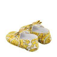 Afbeelding van Versace 1000242 babyschoenen goud