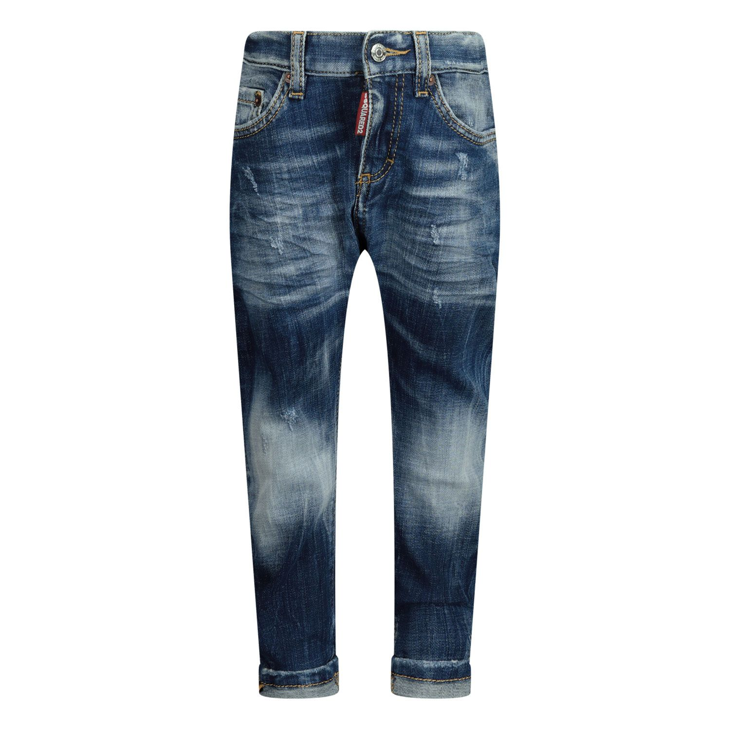 Picture of Dsquared2 DQ01TC D005F baby pants jeans