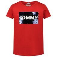 Bild von Tommy Hilfiger KG0KG05251 Kindershirt Rot