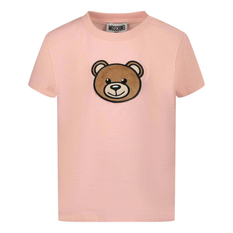 Bild von Moschino MUM02I Baby-T-Shirt Hellrosa