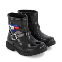 Picture of Tommy Hilfiger 30838 kids boots black